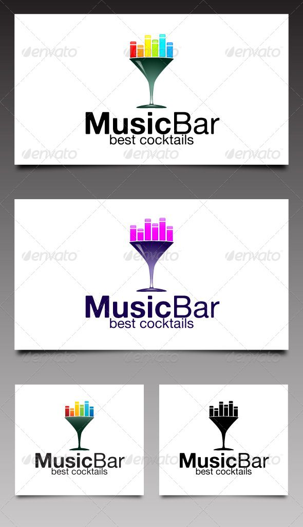 590x1024 Music Bar Logo By Designer Bg Music Bar Is Modern And Unique Logo