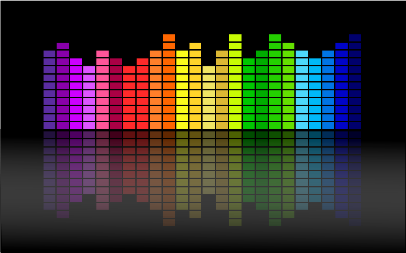 800x499 Music Equalizer Free Vector 4vector