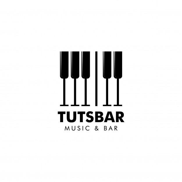 626x626 Music And Bar Logo Vector Vector Premium Download