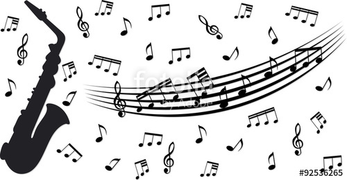 500x260 Music Bar And Notes In Vector Stock Photo And Royalty Free Images
