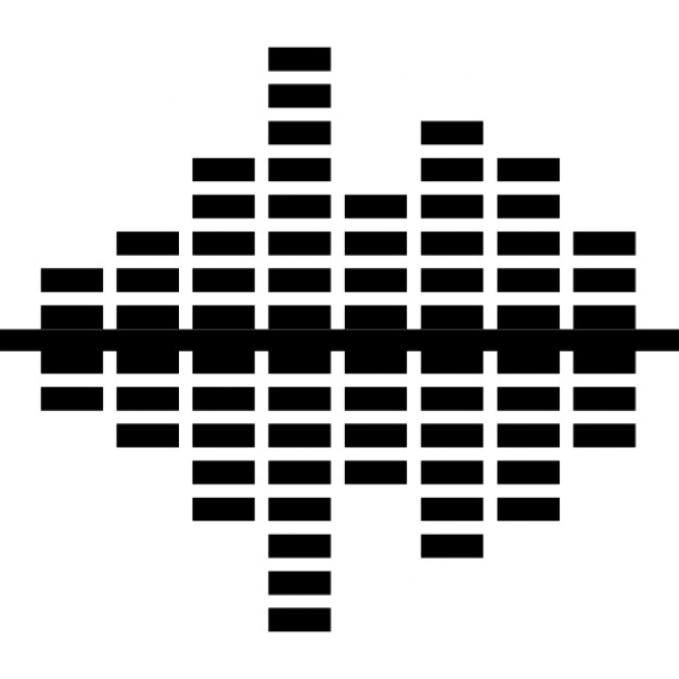 626x626 Equalizer Converging Sound Bars Icons Free Download