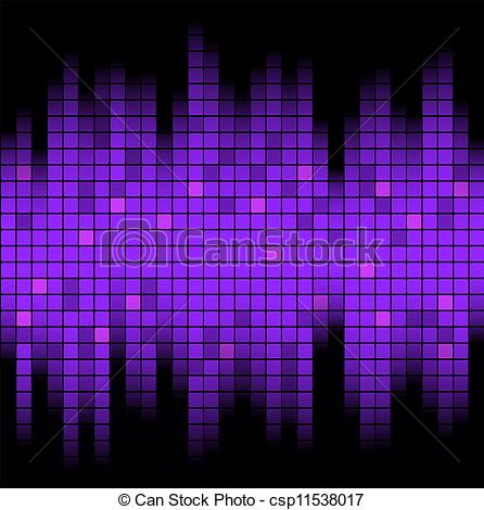 446x470 Sound Of Music. Abstract Music Inspired Graphic Equalizer