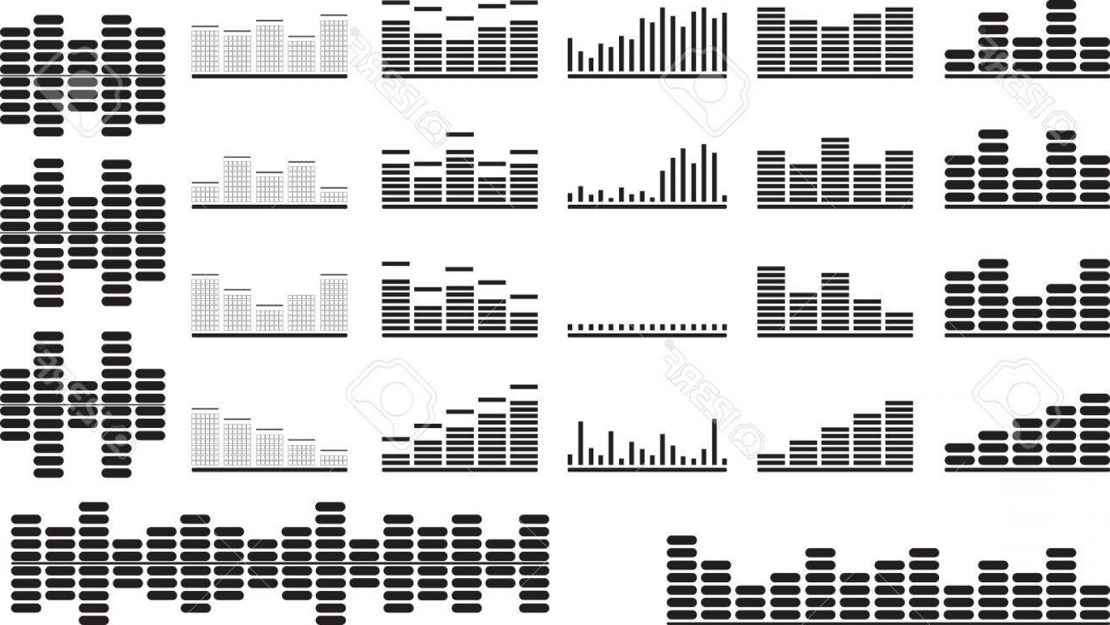 1560x879 Black White Equalizer Vector Sohadacouri
