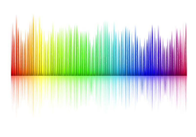 800x560 Colorful Music Equalizer Vector Free Vector Download In .ai
