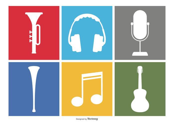700x490 Music Icon Set