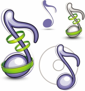 342x368 Music Icon Ai Free Vector Download (61,281 Free Vector) For