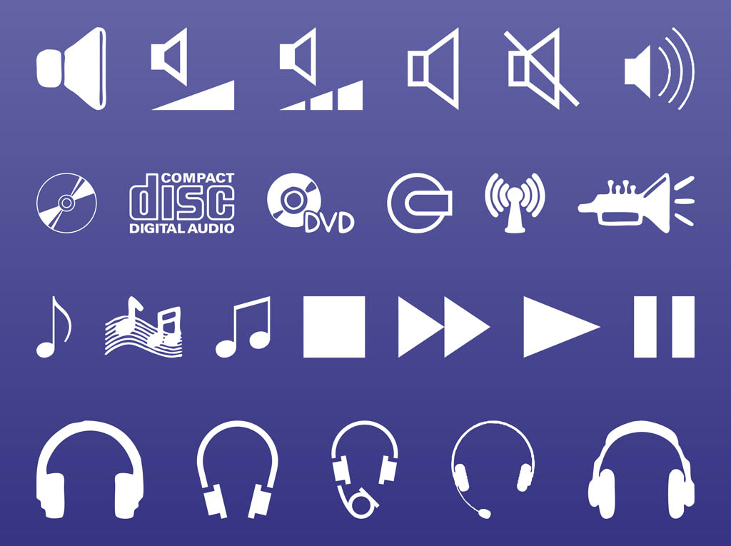 1024x765 Sound And Music Icons Vector Art Amp Graphics