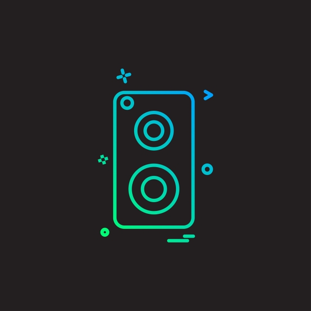 640x640 Speaker Music Icon Vector Design, Music, Vector, Design Png And