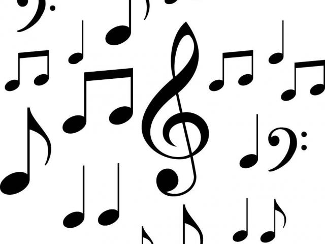 640x480 Music Note Borders Free Download Clip Art