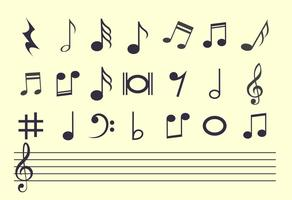 292x200 Music Notes Free Vector Art