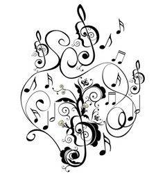 238x250 Music Notes Floral Ornament Vector Curti 100 Free