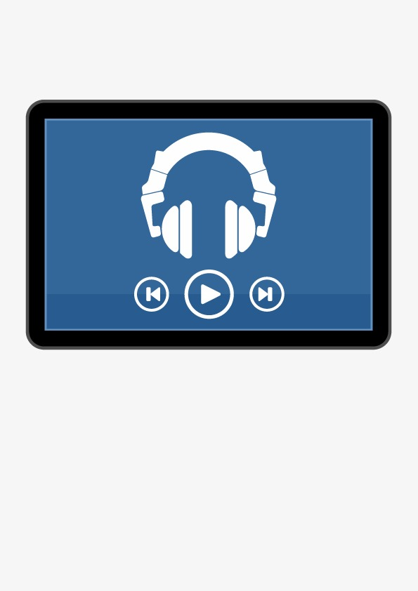 Music Player Vector At Getdrawings Com Free For Personal Use Music