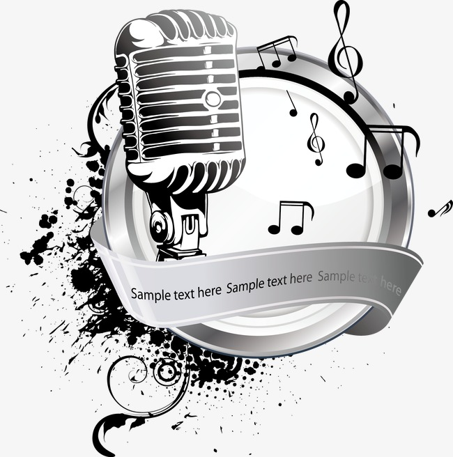 650x656 Vector Music, Music Vector, Music, Microphone Png And Vector For