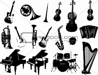 340x260 Image 3601986 Music Instrument Vector From Crestock Stock Photos