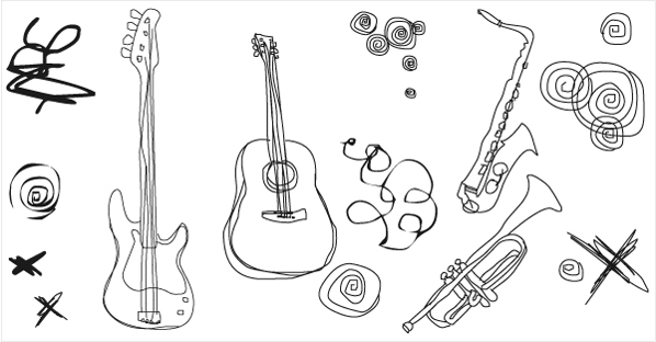 598x312 Free Download Of 013 Free Vector Musical Instruments Vector