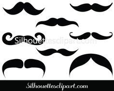 Mustache Vector Free Download