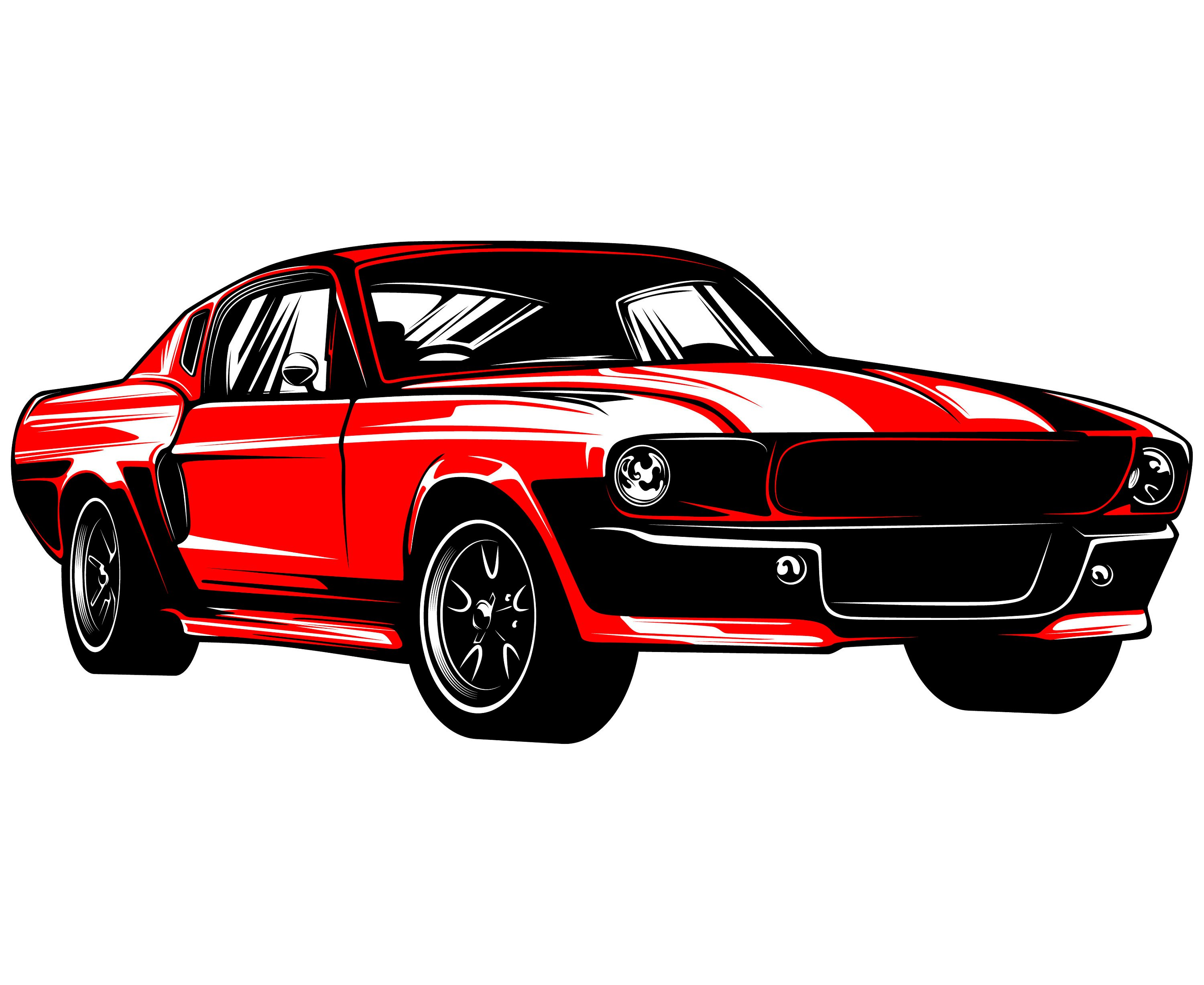 3000x2455 Ford Mustang Svg Mustang Svg Hot Rod Svg 1967 Muscle Car Etsy