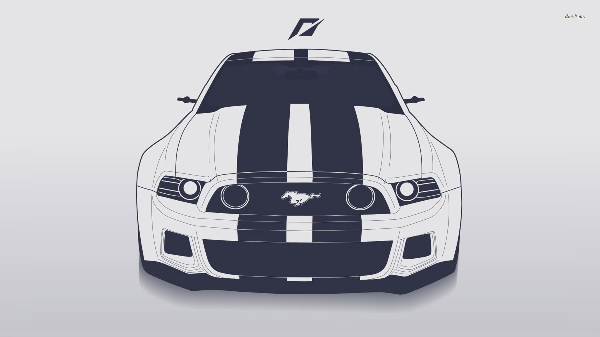 2048x1152 2048x1152 Ford Mustang Vector 2048x1152 Resolution Hd 4k