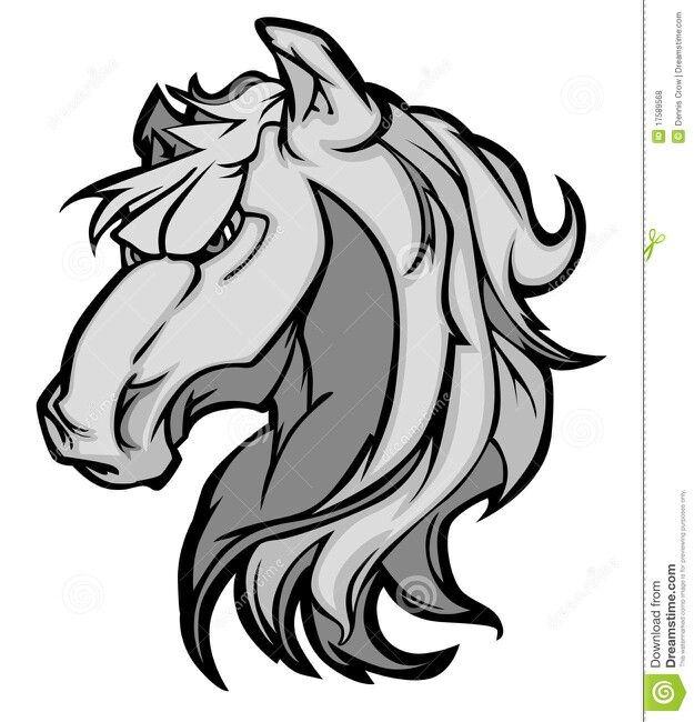 625x650 Horse Vector Mascot Mascot Art Logos