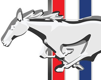 340x270 Ford Mustang Logo Vector Illustrations Detailed Clip Art Files Ai