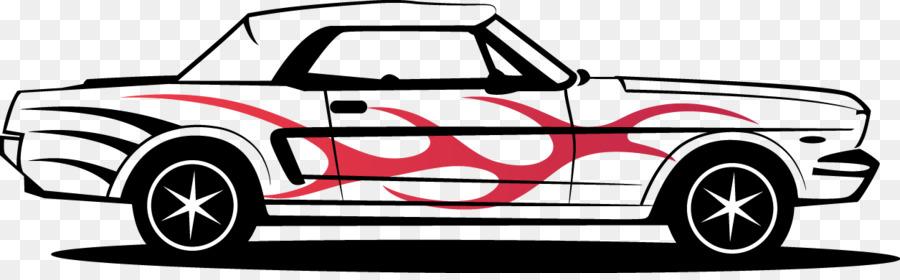900x280 Ford Mustang Car Art