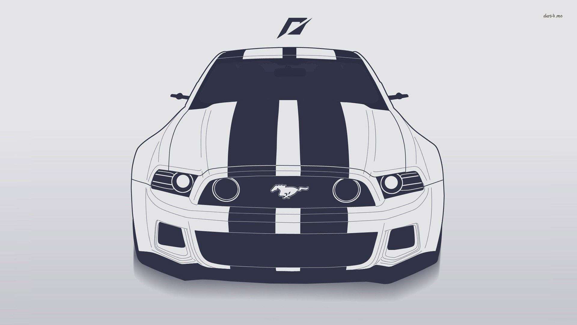 1920x1080 Ford Mustang Vector, Hd Cars, 4k Wallpapers, Images, Backgrounds