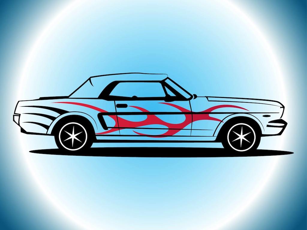 1024x768 Mustang Vector Vector Art Amp Graphics