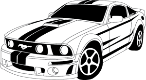 300x166 Search Mustang Logo Vectors Free Download