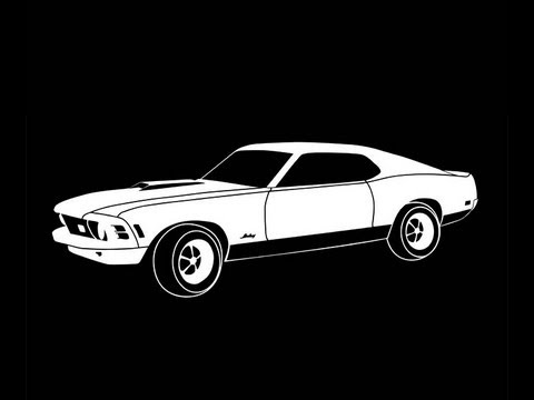 480x360 Turning A Mustang In To A Vector In Illustrator