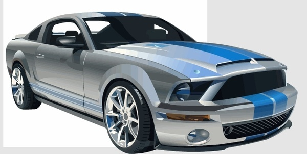 600x302 Vector Mustang 69 Free Vector Download (47 Free Vector) For