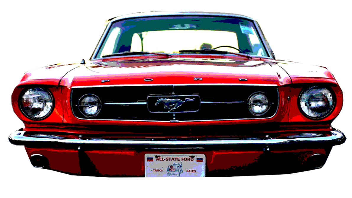 1191x670 65 Mustang Vector Grill By Mikejoros