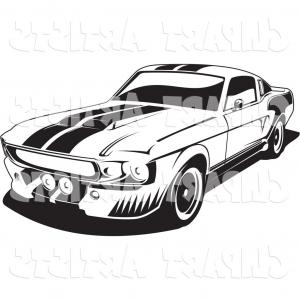 300x300 Best Freevector Ford Mustang Vector Library Sohadacouri