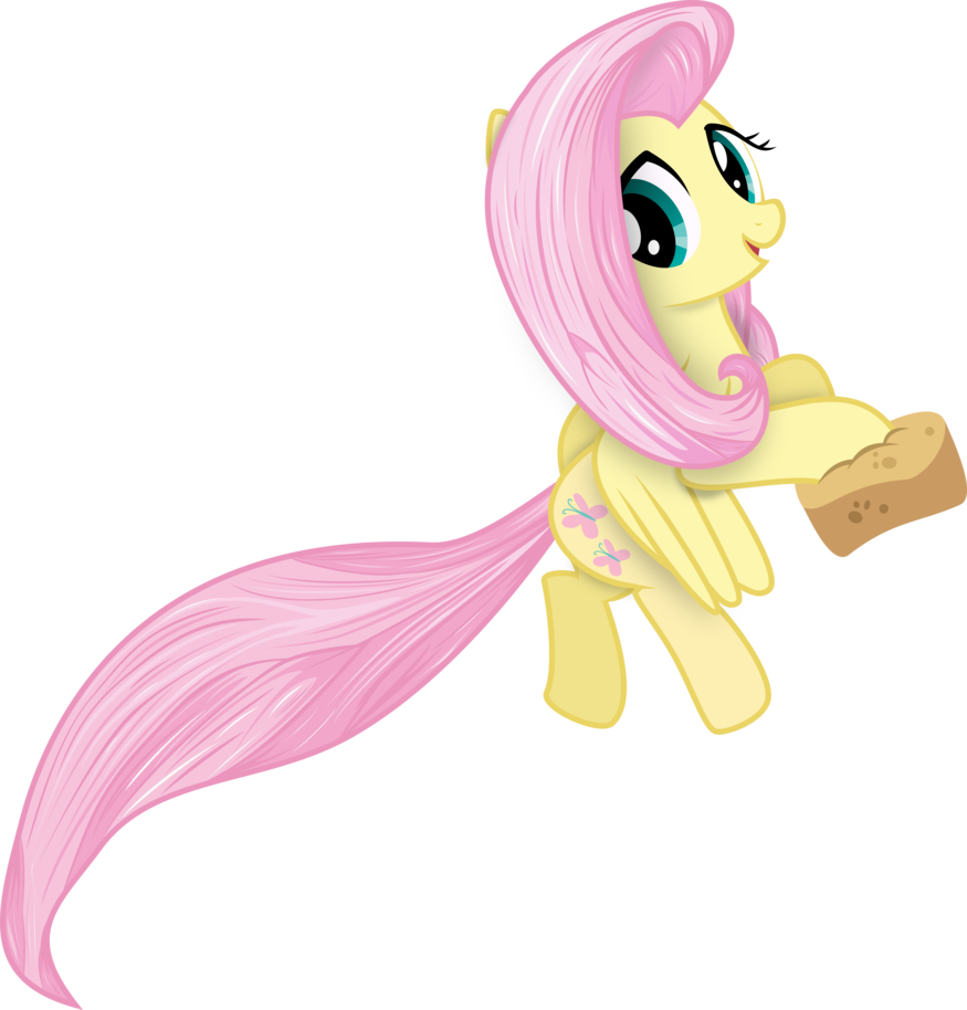 875x914 My Little Pony Vector Fluttershy In Another Style By Krusiu42 On