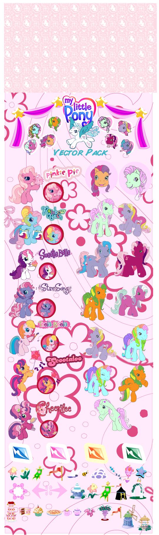 540x1816 My Little Pony Cartoon Clip Art Free Vector 4vector