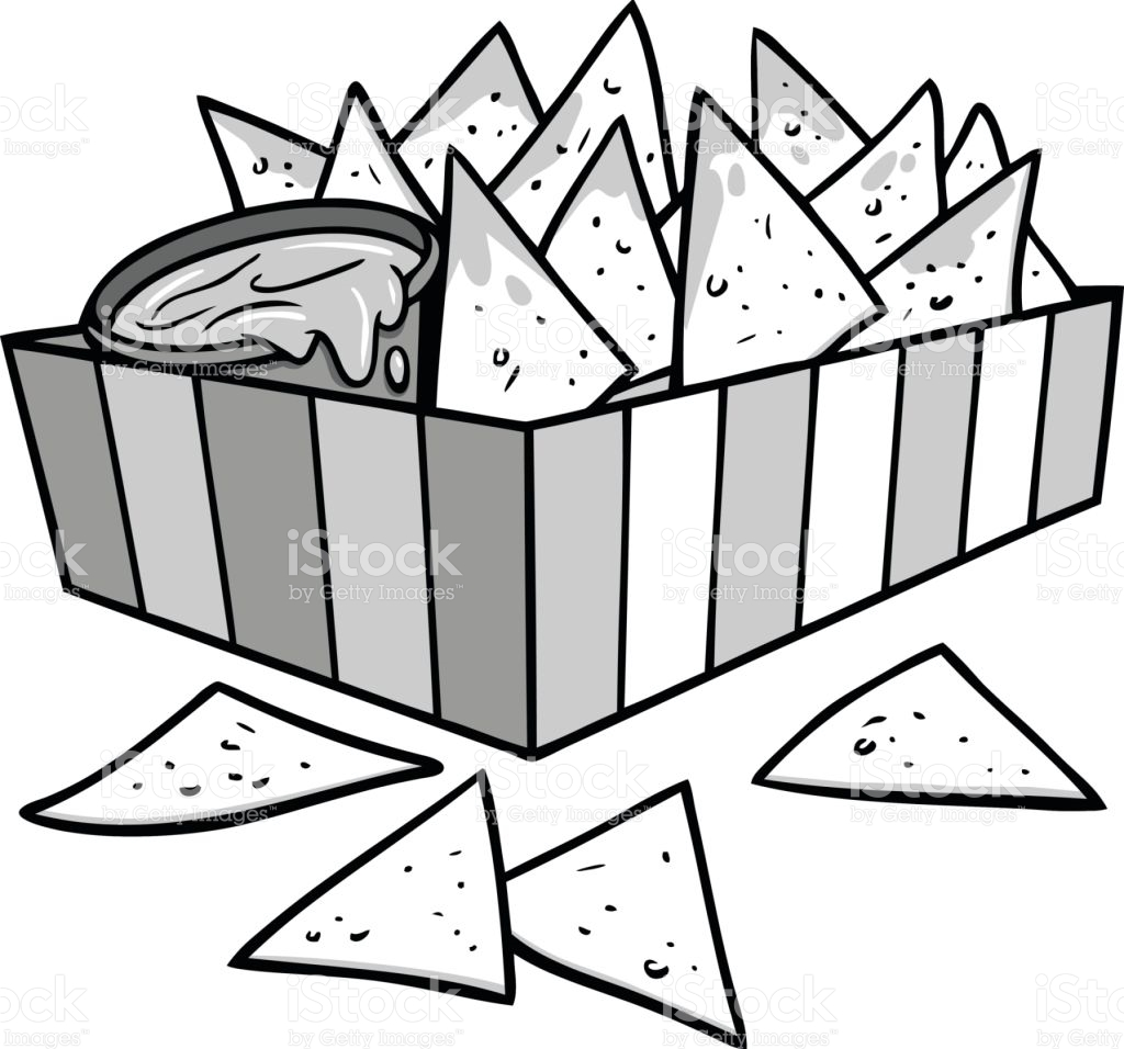 The best free Nachos vector images. Download from 37 free ... Nachos Clip Art Black And White