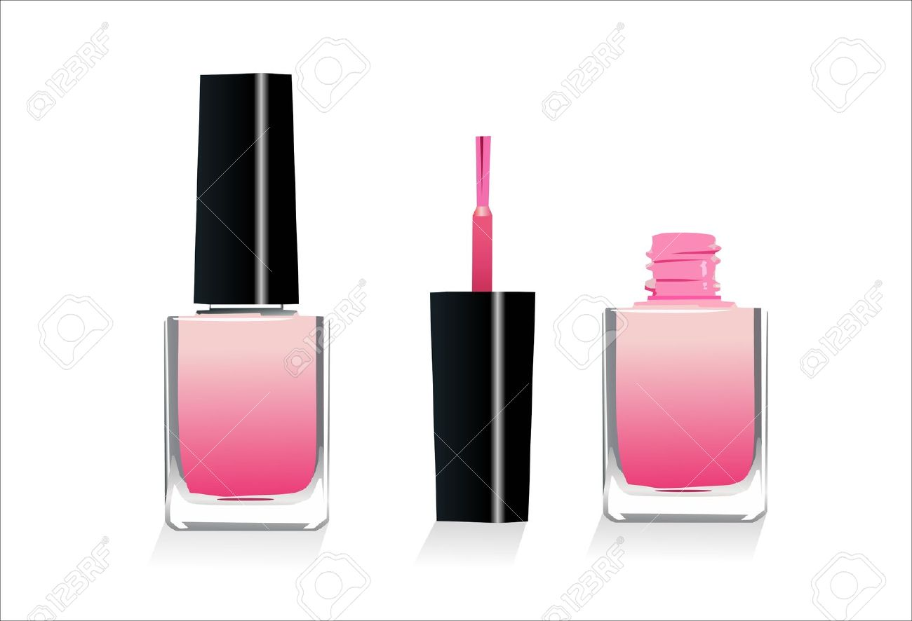 1300x886 Nail Polish Bottle Free Clip Art Hession Hairdressing