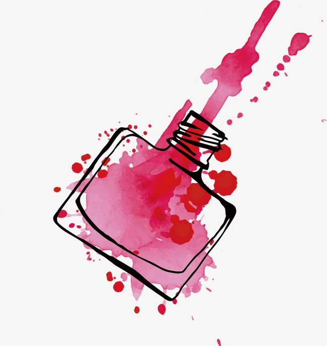 650x688 Nail Polish Vector, Nail Vector, Make Up, Ms Png And Vector For