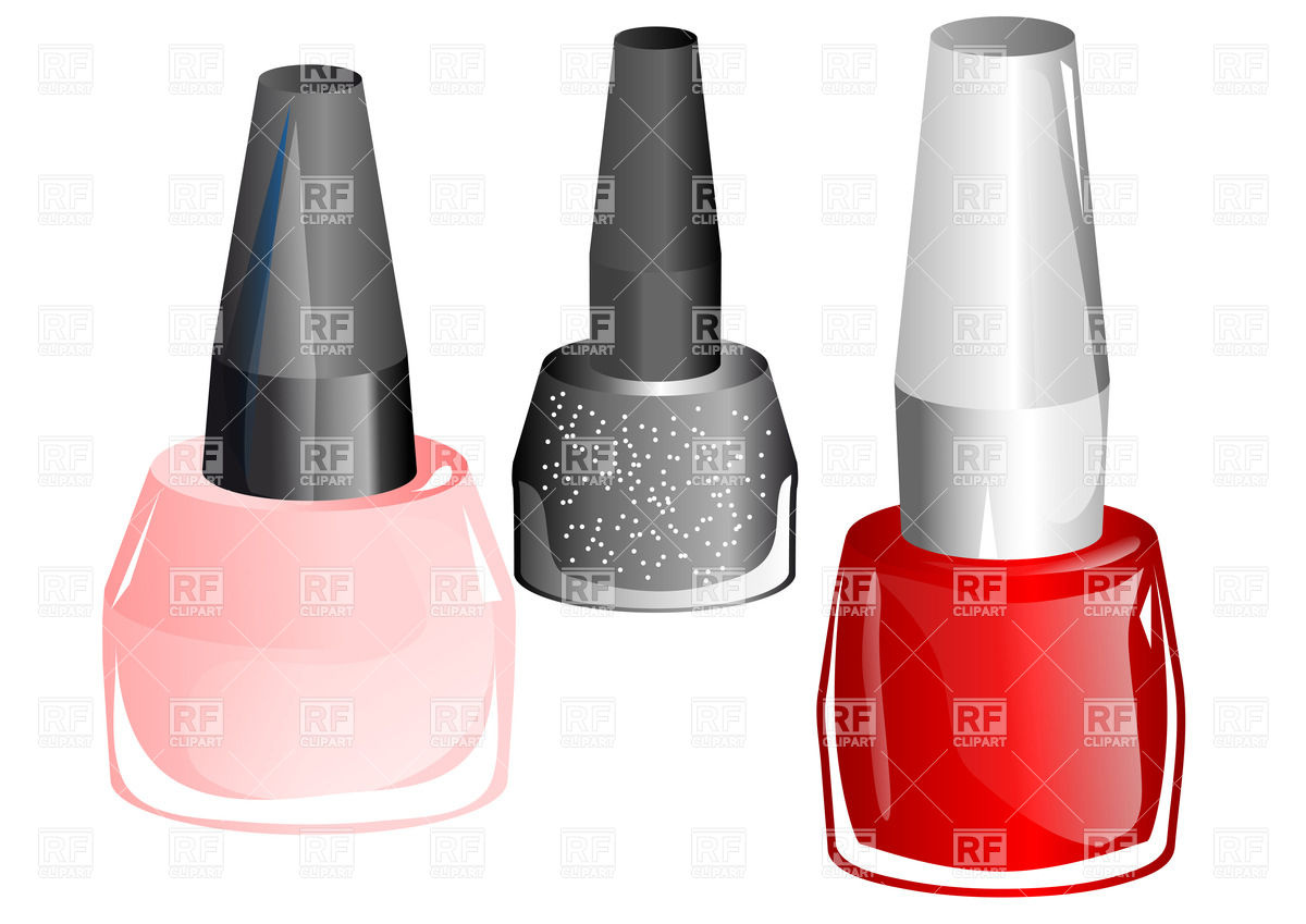 1200x849 Bottles With Nail Polish Vector Image Vector Artwork Of Beauty