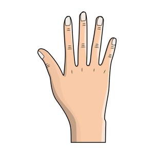 300x300 Finger Nail Royalty Free Vectors