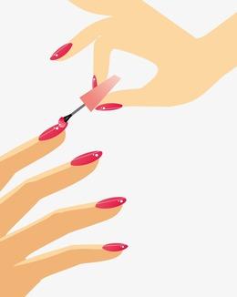 260x326 Download Nails Vector Png Clipart Nail Polish Manicure,hand
