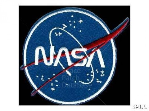 480x360 Nasa Vector Logo With Worm Font Space Patch Database