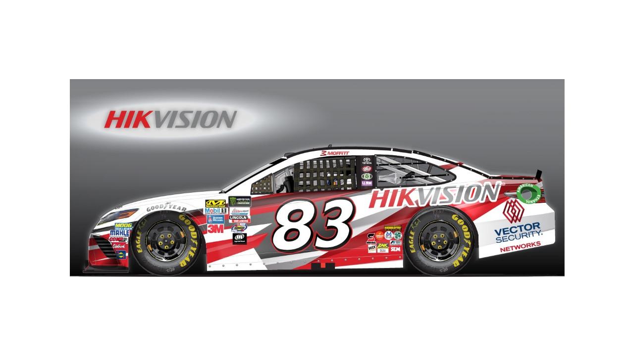 1280x720 Hikvision Co Sponsors Nascar Team