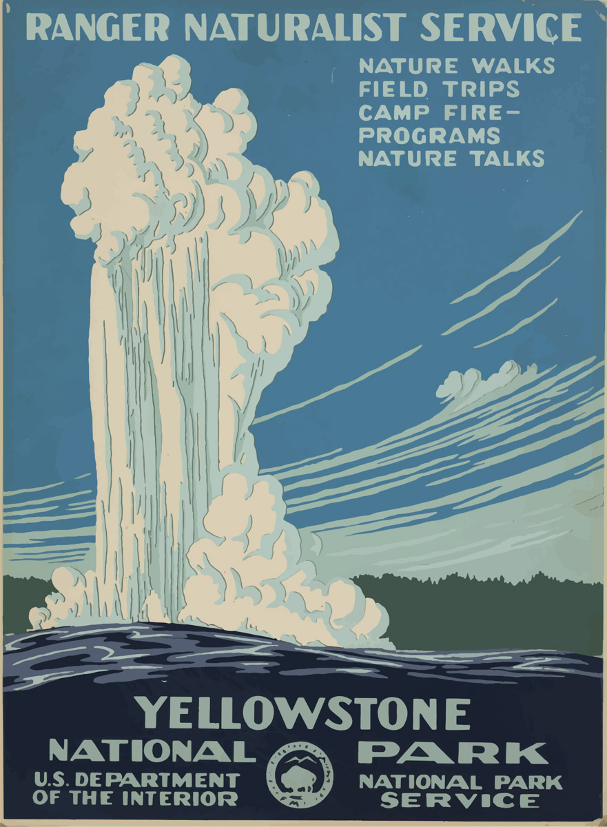 881x1200 Wpa National Parks Posters