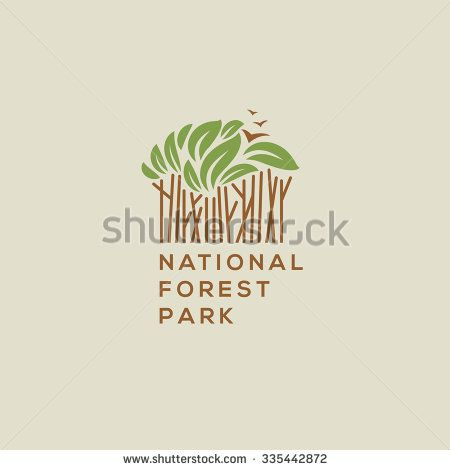 450x470 Stock Vector Forest National Park Logo Outdoor Activity Camping