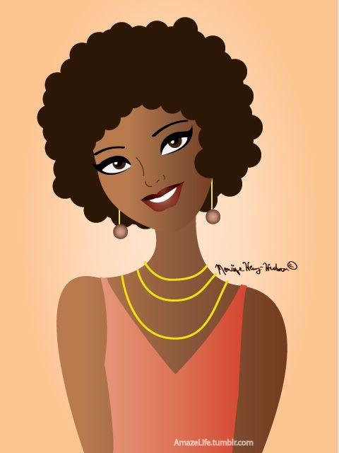 480x640 Pictures Natural Hair Cartoon Images,