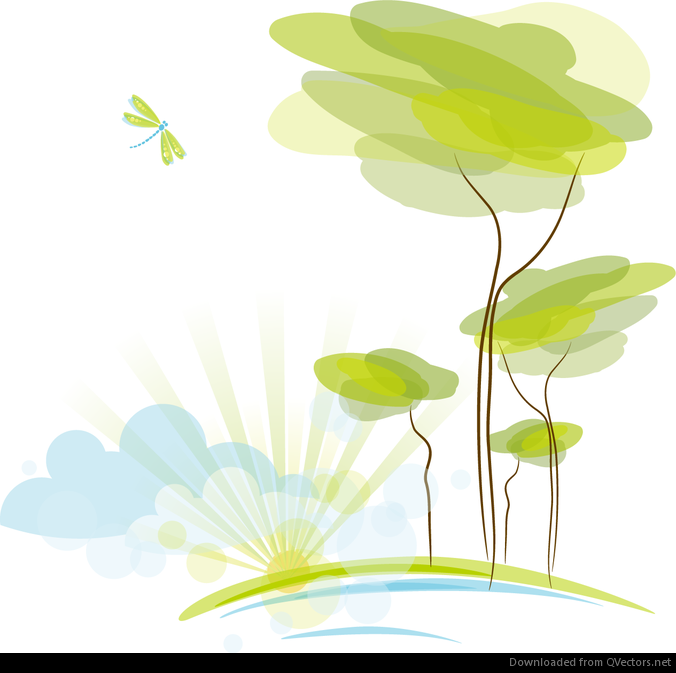 Nature Background Vector at GetDrawings com | Free for