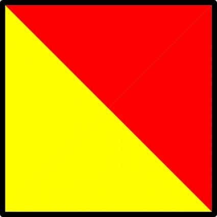 425x425 Nautical Flag Clip Art