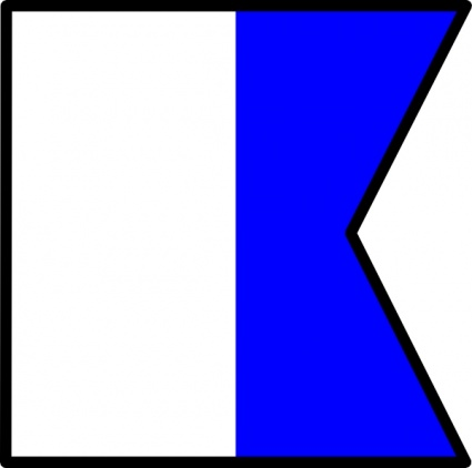 425x422 Nautical Flag Cliparts 237323