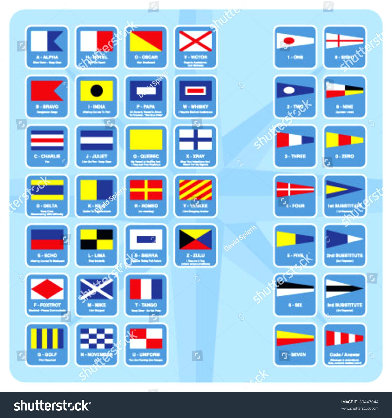 Nautical Flags Vector at GetDrawings | Free download