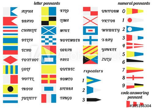 500x357 Nautical Flags